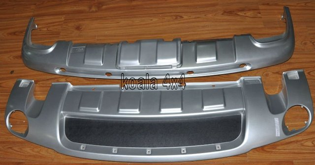VW TOUAREG 2008-2010 FRONT AND REAR SKID PLATE PROTECTOR BUMPER