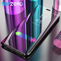 Topzero Touch Flip Stand Case For Samsung Galaxy S8 S9 Plus S6 S7 Edge S6Edge Note8