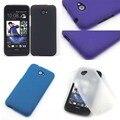 Бесплатная Доставка Матовая ТПУ Силиконовый Гель Дело Обложка Для HTC Desire 601 Зара Dual Sim 6160 Skidproof Сотовый Телефон Защитная Крышка Сумки