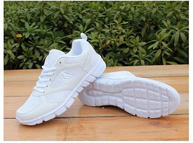 Новый Список Горячей Продажи моды летом Воздухопроницаемой сеткой мужская повседневная обувь мужская любителей обувь Увеличить размер 36-46 jx0198