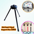 "New Strong 1/4"" Screw Head Mini Stand Tripod Mobile Phone Tablet Clip Mount Table Desk Bed Holder Universal Support Max 15KG"