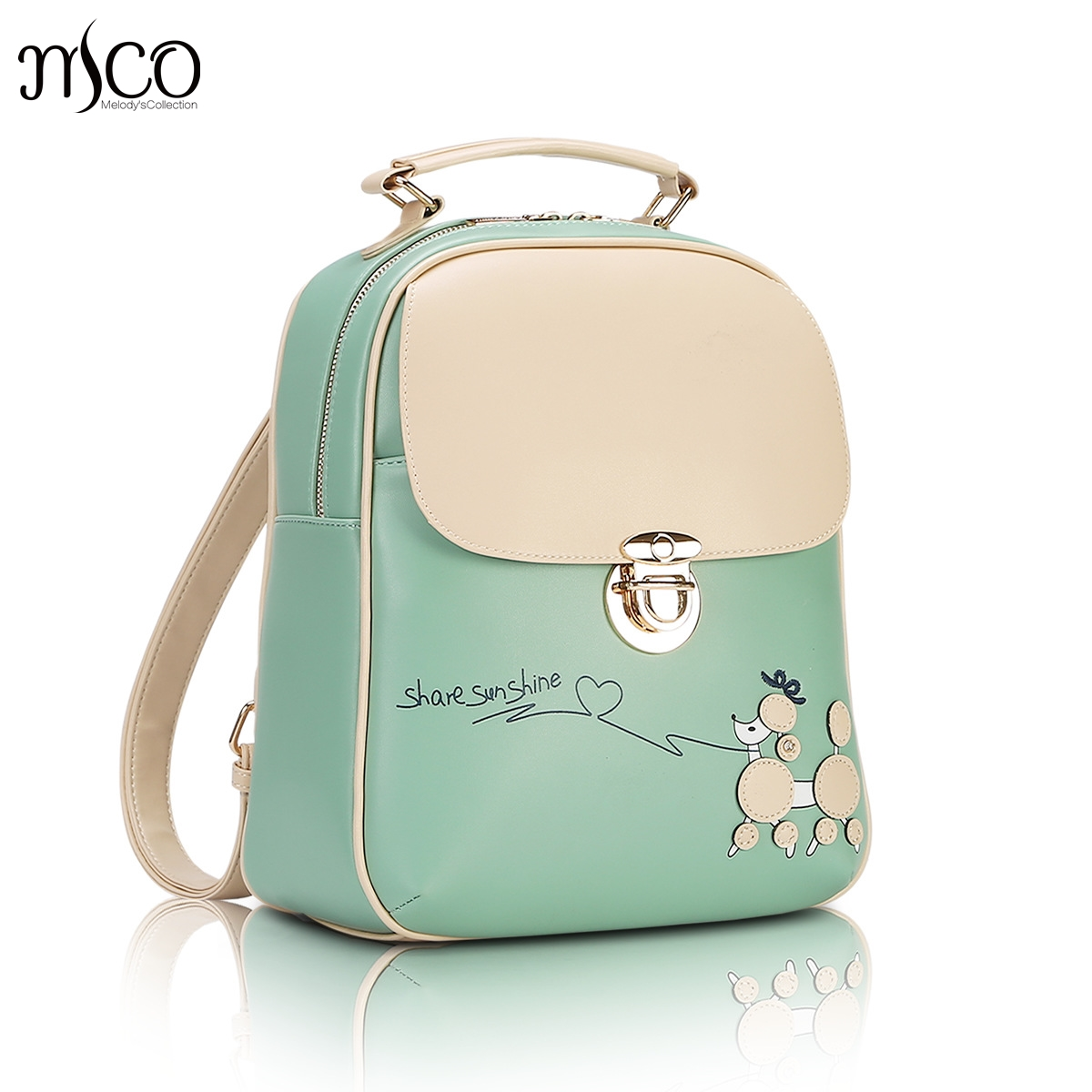 8c472bb0d2b9 amazon mynos fashion luxury designer women small backpack red and ...