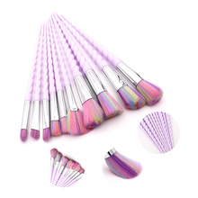10pcs/set Unicorn Makeup Brush Set Foundation Powder Eye shadow Blending Make Up Brushes Cosmetic Beauty Make Up Tools