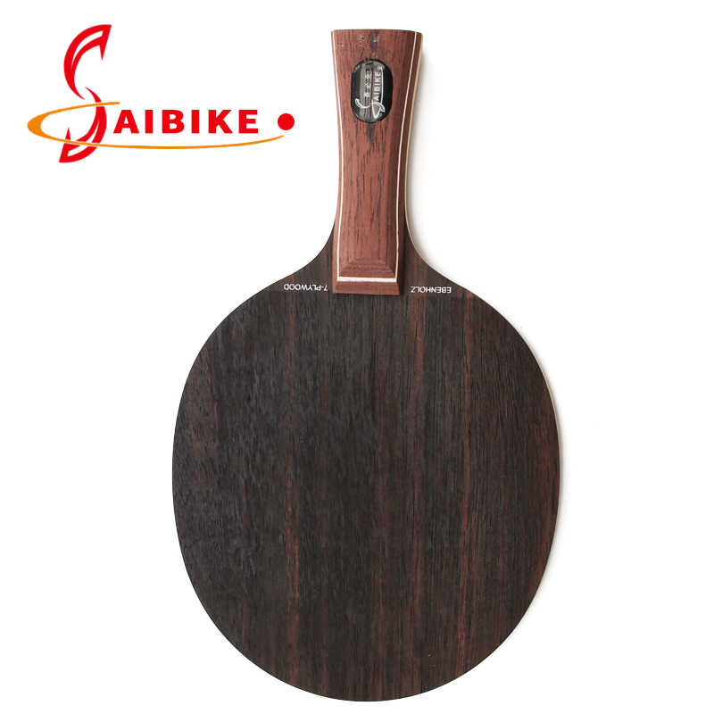 Ebony 7 table tennis racket ping pong racket bat ping pong blade Long handle