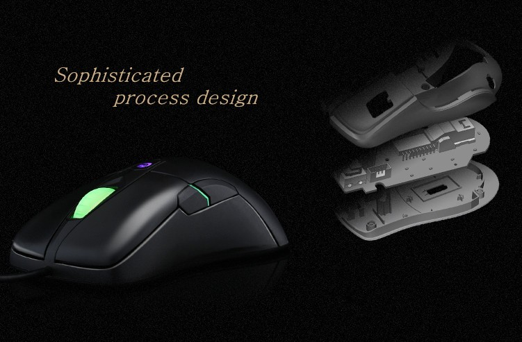Hongsund MG3 Wired Optical Lights USB PC Computer Laptop Gamer Game Gaming Mouse Mice IE3.0 upgrade IO1.1CF CS LOL Gaming Mouse 13