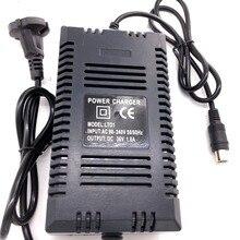 ขายส่ง EU Plug 36 v สมาร์ทสกู๊ตเตอร์ไฟฟ้า 36 v lead acid แบตเตอรี่เจล charger 1.8A 36 V โลตัส RCA เอาต์พุต