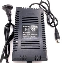 Оптовая продажа ЕС Plug 36 В в зарядное устройство умный электрический скутер зарядное В устройство 36 В свинцово-кислотная батарея зарядное устройство 1.8A В 36 В RCA выход