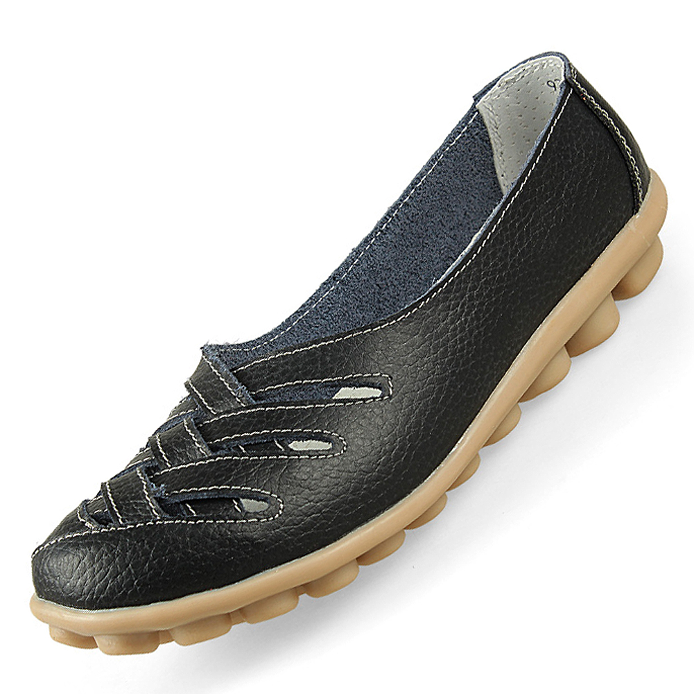 Women Genuine Leather Mother Shoes Moccasins Women's Soft Leisure Flats Female Driving Shoe Flat new women s flats shoes 2015 brand genuine leather flat shoes woman moccasins female causal driving shoes for women bsn 158