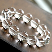14MM Crystal City Family 5A Pure Plain Water Crystal Men And Plain Water Crystal Hand Jewelry Defence Radiation