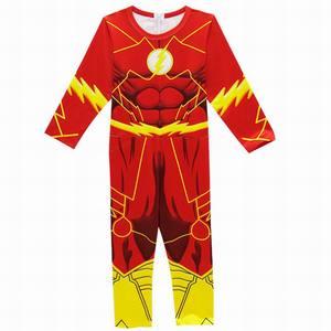 Image 2 - את פלאש תלבושות ילדים ליל כל הקדושים תלבושות עבור בני סרבלי Superhero פלאש קוספליי תחפושות ילדי ציוד חגיגי מפלגה