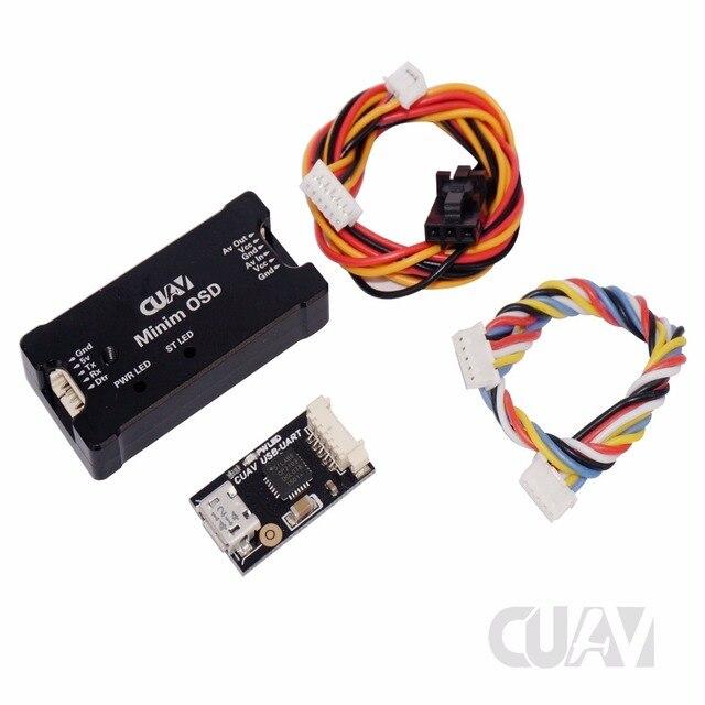 CUAV Minim OSD wyświetlacz ekranowy Ardupilot Mega Mini OSD Rev. 1.1 OSD diy drony APM2.0 APM2.5 APM2.6 PIXHACK PIXHAWK