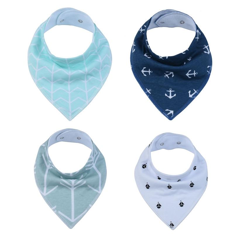Newborn Cotton Baby Bibs Top Quality Boys Girls Towel Cartoon Bandana Bibs Bib Infant Saliva Towel Toddler Baberos