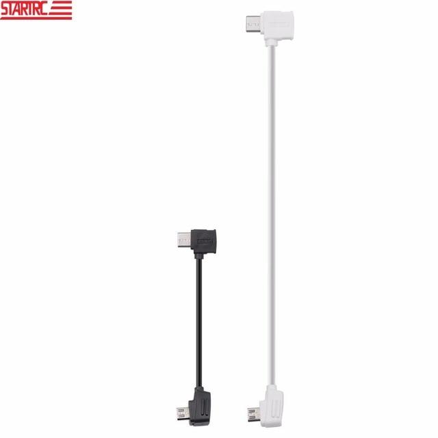 STARTRC Compatible Durable Micro / Type c / Lightning USB to Mciro USB Cable For DJI Mavic 2 Pro/Air/Mavic Pro/ Spark Controller