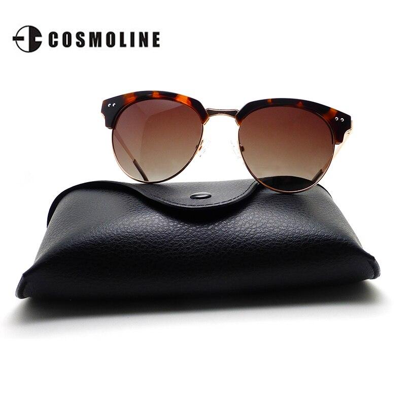 Semi Sin Montura gafas de Sol Polarizadas Marca de Las Mujeres ...