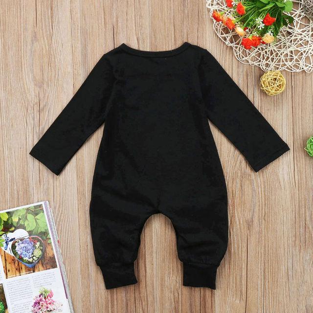 Boy's Mom's Little Boy Printed Jumpsuit 6