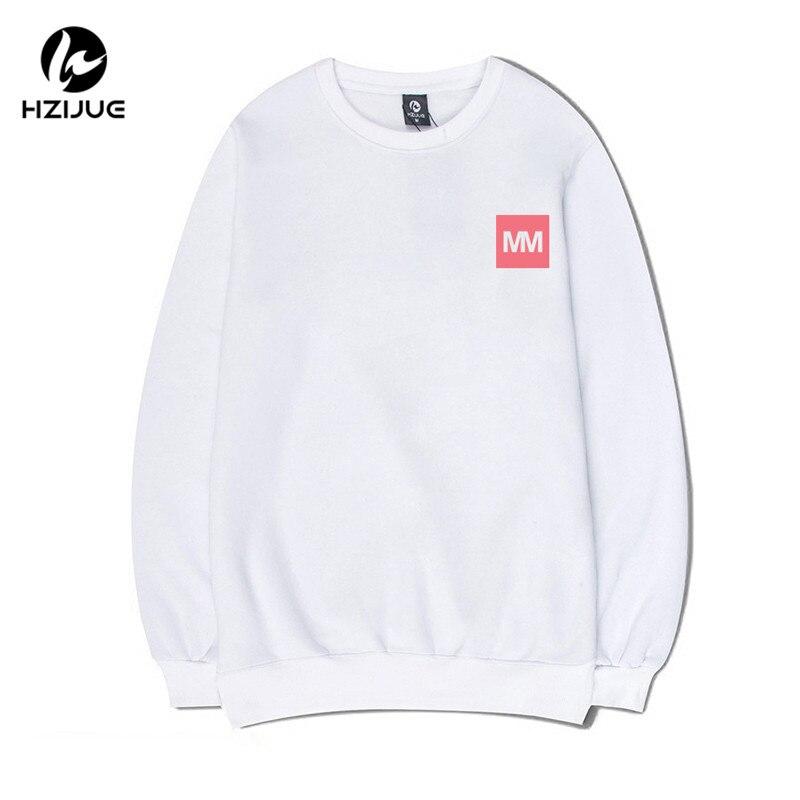 HZIJUE 2017 spring Clothes Fleece Letter Printing Thicken Hoodies Hip Hop Skateboard Hooded Men Sweatshirts Tracksuit Hoodies