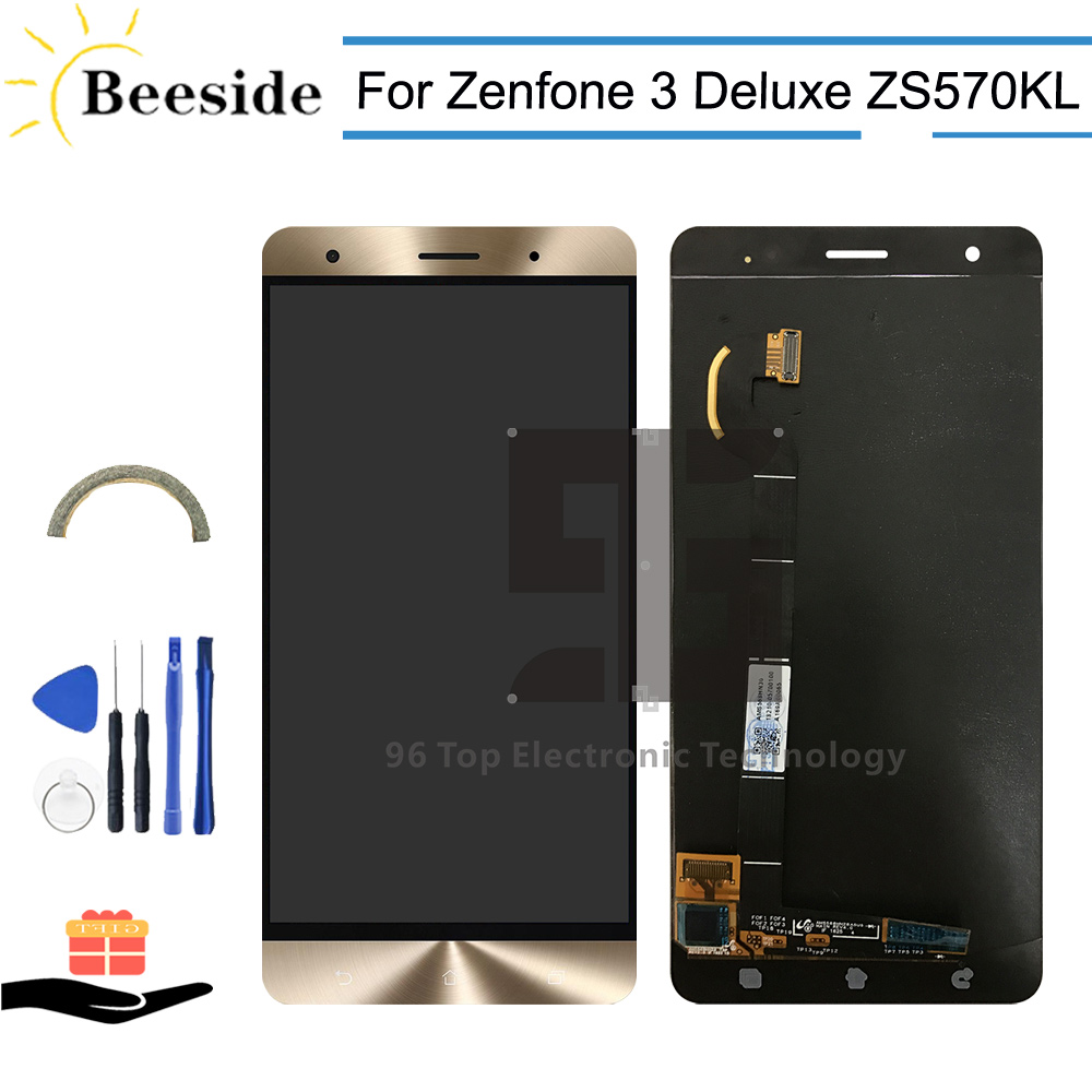 AA+ Quality LCD 5.7 For Asus Zenfone 3 Deluxe ZS570KL Z016D LCD Display Touch Screen Digitizer Assembly ReplaceAA+ Quality LCD 5.7 For Asus Zenfone 3 Deluxe ZS570KL Z016D LCD Display Touch Screen Digitizer Assembly Replace
