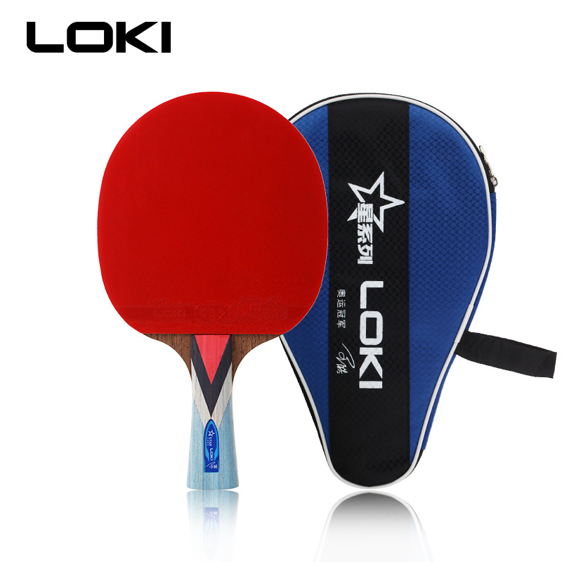 LOKI Wenge Wood Table Tennis Racket Carbon Table Tennis Bat Offensive Ping Pong Racket Pimples In Pingpong Paddle