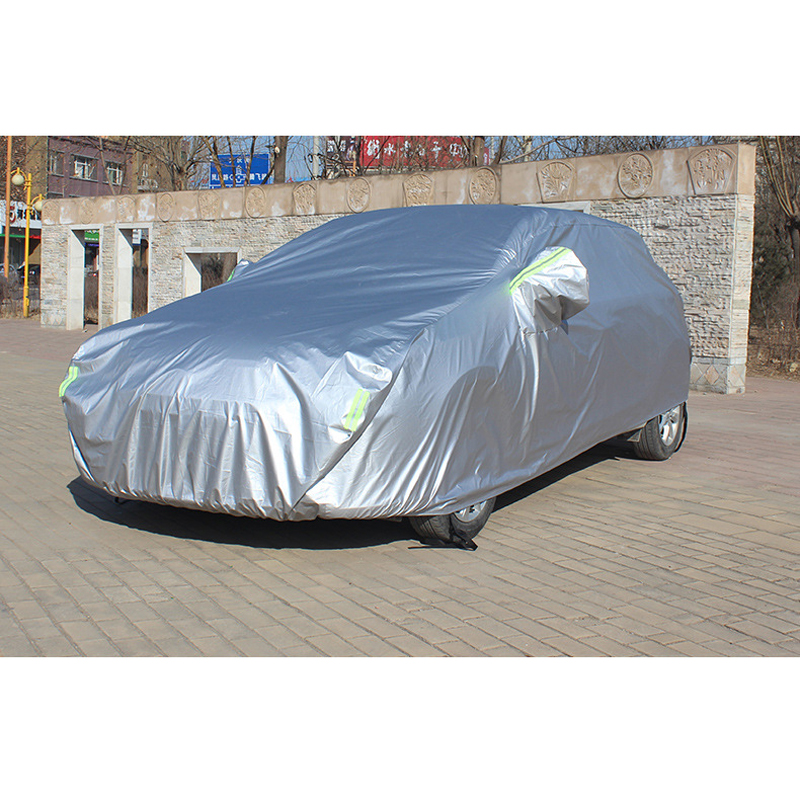 Image 2 - Full Car Covers With Side Door Open Design Waterproof For Renault Capture Sandero Megane 2 Clio Logan Fluence Car Accessories-in Car Covers from Automobiles & Motorcycles
