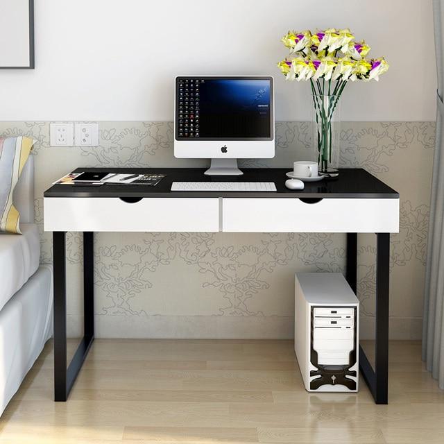Moderne Stilvolle Computer Laptop Schreibtisch Mit Schubladen