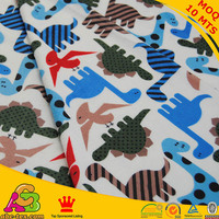 Free Shipping Dinosaur Design Digital Print Minky Fabric Ultra Soft For Baby Boy Blanket Baby Pillow
