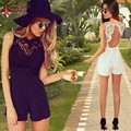 Burst Models Casual Pants Female New Summer Sexy Lace Loose Piece Pants Shorts Cocktail Dress Party Gown