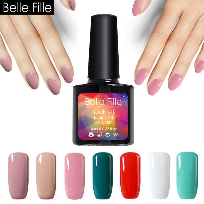 Pinkish White Nail Polish: Aliexpress.com : Buy UV Gel Nail Polish 10ml LED Gel For
