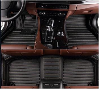 Good quality! Custom special car floor mats for BMW 2 series Convertible F23 218i 220i 225i 228i 2019-2014 waterproof carpets