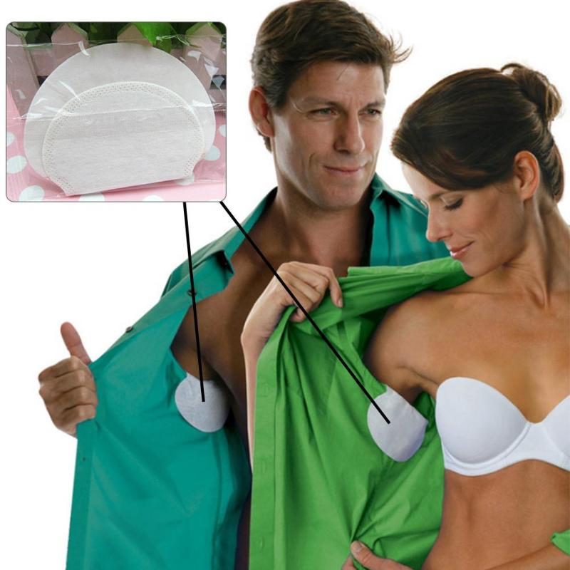10/40pcs Summer Disposable Armpit Sweat Absorbing Pads Antiperspirants Underarm Sweat Deodorants Stickers For Clothing