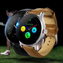 Original K88H MTK2502 Smartwatch Bluetooth Monitor de Ritmo Cardíaco Reloj Inteligente Usable Dispositivos A Prueba de agua Reloj de Pulsera Para IOS Android