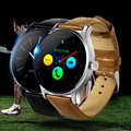 Original k88h wearable dispositivos smart watch mtk2502 smartwatch bluetooth monitor de ritmo cardíaco reloj impermeable para ios android