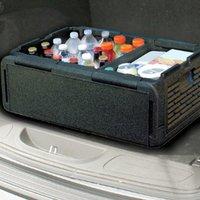 35L портативный размер автомобильный холодильник авто Интерьер холодильник напиток еда коробка для сохранения теплого и холодного для авто...