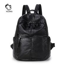 Kujing мода рюкзак высокое качество Для женщин Повседневное рюкзак Горячие большой объем студент Сумки Роскошные Для женщин Путешествия покупки рюкзак