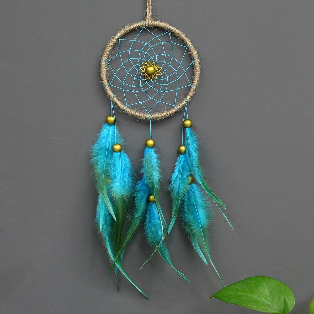 Handmade Dream Catcher Net Feathers Home Car Wall Hanging Ornaments Decor Craft