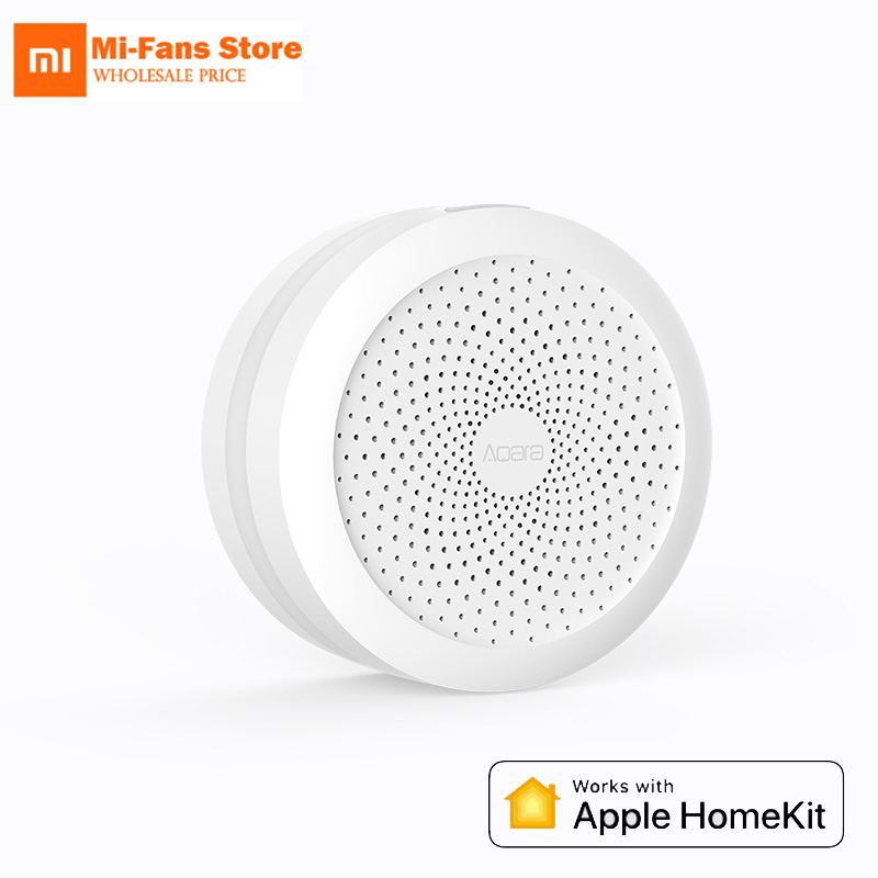 Home Improvement Smart Home Control Flight Tracker Aqara Hub Mi Gateway With Rgb Led Night Light Smart Work With For Apple Homekit And Aqara Smart App For Xiaomi Smart Home