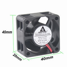 Gdstime 5 в 2 контакта 40 мм компьютерный кулер шариковый подшипник