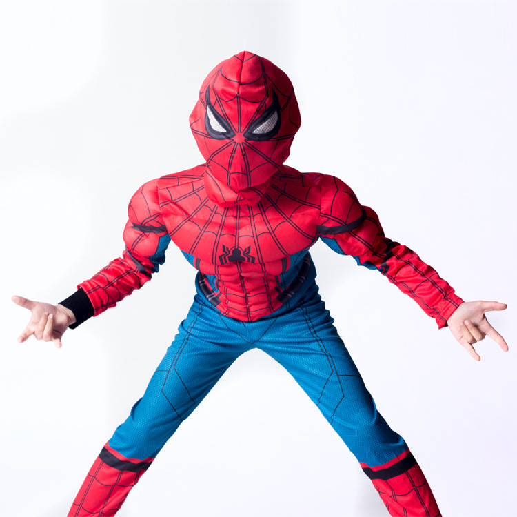 Wholesale 2018 Spiderman Costume Super Hero Captain America Cosplay Costume Holland Iron Spider Man Avengers Costumes Cosplay