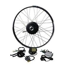 Eunorau 36V500W Shengyi DGW22C задний Кассетный Электрический велосипед конверсионный комплект бесщеточные моторы-колеса 20 «24» 26 «27» 28″