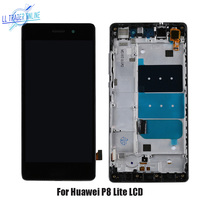 LL TRADER 5.0'' Pantalla Screen Replacement For Huawei P8 Lite Display Touch P8 Lite LCD With Frame Assembly Digitizer+Tools