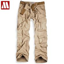 Camouflage Tactical Military Clothing Casual Trousers for Men Multi-pocket Army Cargo