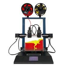 TL D3 Pro Impresora 3D 300*300*350 มม.3D เครื่องพิมพ์ 2 สี Dual หัวฉีด Linear Rail กระจก 3D การพิมพ์ 4.3 นิ้ว