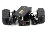 100m HD 1080P VGA UTP Extender 1x1 Splitter With 3 5mm Audio RJ45 Cat5e 6 Ethernet