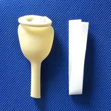 20 stks wegwerp Medische urine collector Latex urine zak mannelijke externe katheter enkel gebruik E.O Sterilisatie uit Maleisië