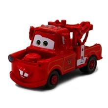 Disney Pixar Voitures Rescue Squad Mater Métal Alliage Moulé Sous Pression Jouets De Voiture 1:55 Rouge Mater Pixar Voiture Modèle Jouets Cadeau D'anniversaire Pour Enfants
