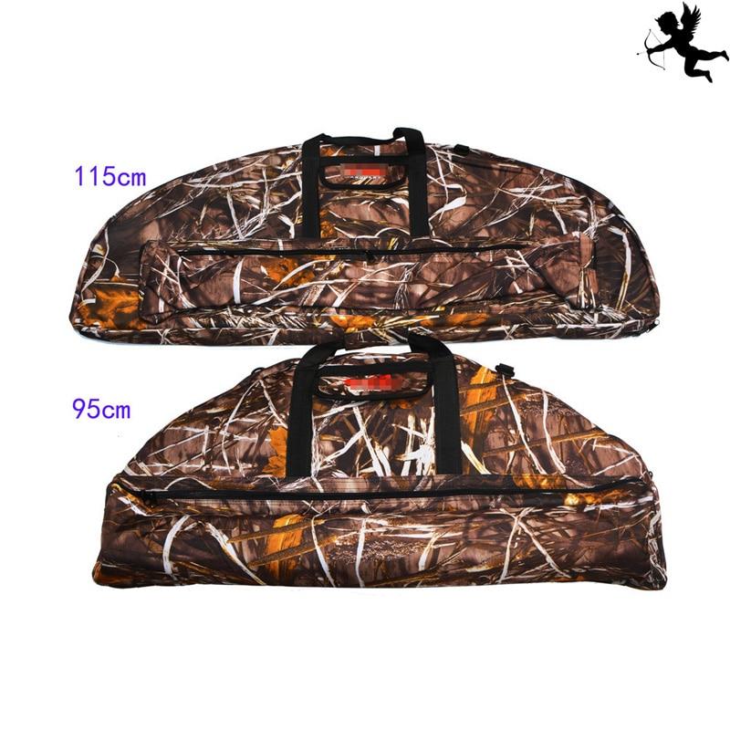 Bow And Arrow Bag : Camo archery bow pocket arrow bag recurve case soft