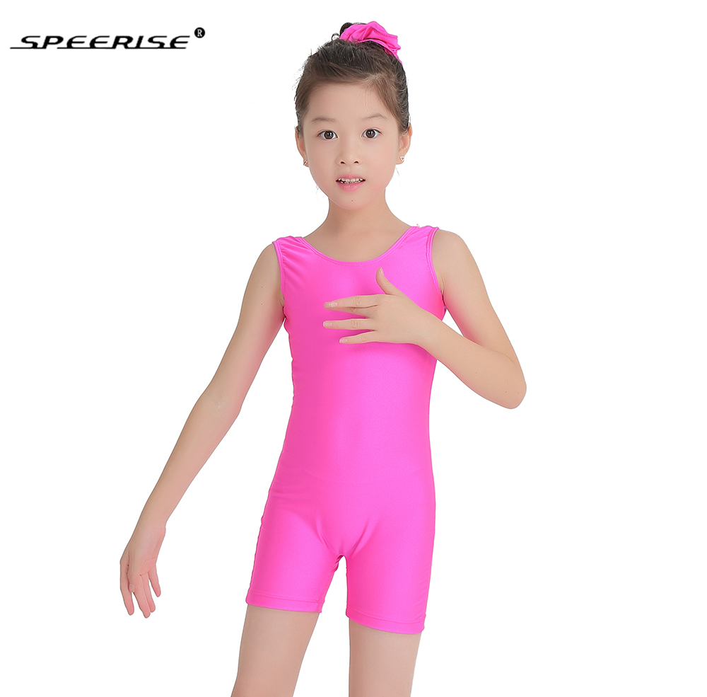 SPEERISE Child Tank Biketard Kids Unitards Costume for ...