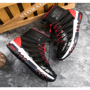 Image 5 - ONEMIX çizmeler erkekler için koşu ayakkabıları yüksek Top Trekking spor ayakkabılar çapraz spor açık koşu Sneakers rahat yürüyüş