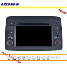 Liislee для Fiat Panda 2004~ 2012 автомобильный стерео радио CD DVD плеер gps Navi навигация 1080P HD экран система дизайн NAVI