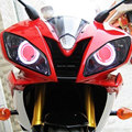 Ангел глаз HID демон глаз проектор фара в сборе для Yamaha YZF R6 2006-2007 фара мотоцикла головной свет фары