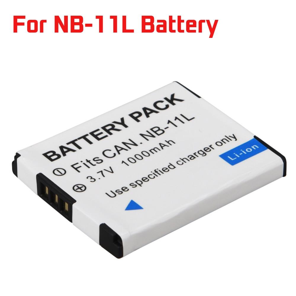 Batteries Contemplative 1000mah Nb-11l Nb 11l Nb11l Battery For Canon A2600 A3500 A4000is Ixus 125 132 140 240 245 265 155 Hs Digital Camera Batteria